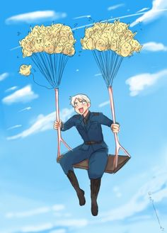 Prussia. Not my favorite character but this picture is just too cute. xD