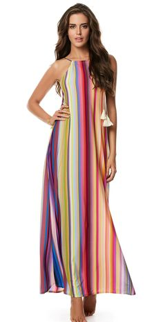 PilyQ Sunset Reign Long Dress from South Beach Swimsuits