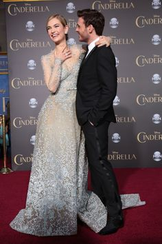 Lily James, Richard Madden, Wide