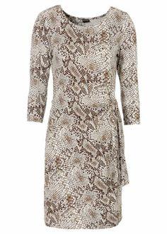 snake #print #dress