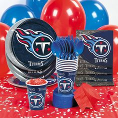 NFL® Tennessee Titans™ Basic Party Pack - OrientalTrading.com