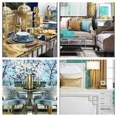 Z Gallerie happy! Check out all the fun, bright colors @zgallerie has featured in their summer catalog! Everything can be found on their website.... - Interior Design Ideas, Interior Decor and Designs, Home Design Inspiration, Room Design Ideas, Interior Decorating, Furniture And Accessories