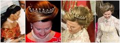 Queen Maud's Pearl and Diamond Tiara