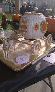 A Princess Carved #Pumpkin #Carriage.