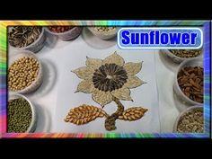 Gambar Kolase Bunga Mawar Biji Bijian Belajar Cara Membuat Kolase Bunga Matahari Dengan Biji Bijian Kolase Biji Bijian Kola Gambar Bunga Kolase Biji Bijian