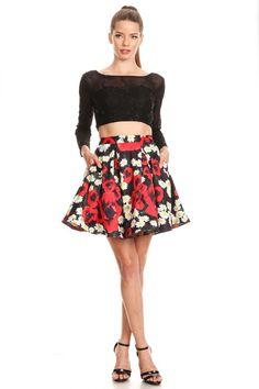 Two Piece Set Short Dress NX6339 https   www.smcfashion.com  9202e75fc