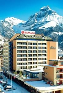 The fabulous Ramada Hotel in Engelberg, Switzerland with rooms from just $131.