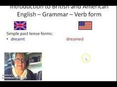 Simple Past Tense, Verb Forms, English Grammar, Blue Prints