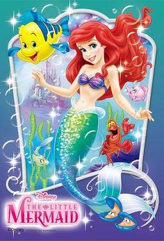 Yanoman Jigsaw Puzzle Disney The Little Mermaid Ariel Small Pieces) Ariel Mermaid, Mermaid Disney, Disney Little Mermaids, Mermaids And Mermen, Ariel The Little Mermaid, Disney Girls, Disney Love, Disney Princess Art, Disney Art