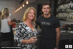 Laurie Francey (Office Manager / Director of Operations) at a networking event at Social Eatery & Bar, Sarasota.