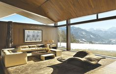 Aspen modern Mountain Homes   The property is owned by Russian oligarch Roman Abramovich.