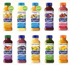 Naked Juice- easy lunch on the go and so delicious I always keep them in my fridge. Love this stuff!