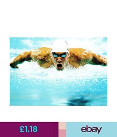 Sport (09232) Postcard - Olympic Games Swimming 2008 Beijing - Michael Phelps #ebay #Collectibles