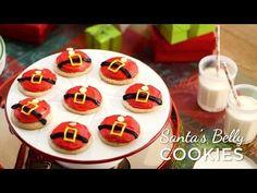 Santa's Belly Cookies Recipe - Pillsbury.com