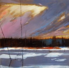 """Contemporary undefined - """"changing weather"""" (Original Art from David Lidbetter)"""