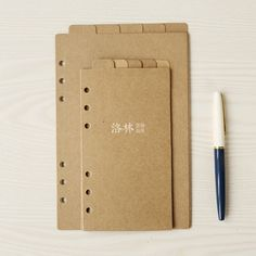 Free shipping Filofax a5 a6 loose-leaf paper index paper loose-leaf 5 sheets cowhide paper