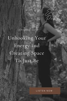 Feeling a need to pull your energy back and retreat? To set boundaries and protect your energy, especially with online spaces and communities? Over the last few months I've been feeling the same. In the most recent episode over on The Empath Podcast I'm sharing a few changes I've been making to personally unhook my energy from the collective to create more and more space to just be. Including a lot of nervous system regulation, as that's what keeps us getting stuck in the trap of spaces like… Highly Sensitive Person, Sensitive People, Intuitive Empath, Create Space, Mindful Living, Life Purpose, Just Be, Nervous System, Intuition