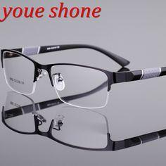 d6a2a1707b Click to Buy    youe shone Eyeglasses Frames Men Super Large Wide Oversized