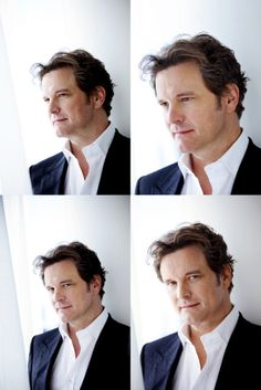 Colin Firth...oh Mr. Darcy! Love me so Mr. Darcy!!