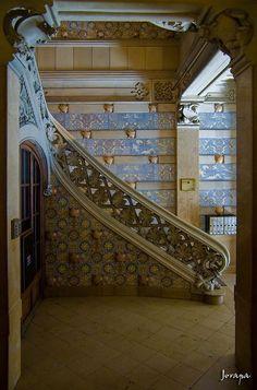 Casa Thomas.  Modernisme. Barcelona. by jorapa, via Flickr