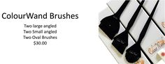 balayage brushes KIT,Two large angled   Two Small angled Two Oval Brushes $30.00  http://www.martinrodriguez.com/Balayage-paddle-spatula-Board.html