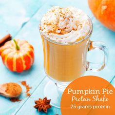 Can't get enough ‪pumpkin‬? Neither can we! Try our new Pumpkin Pie Protein Shake - we're sure you'll love it!