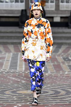 Again some Marimekko inspirations seen in collections. Kenzo Spring 2018 Ready-to-Wear  Fashion Show Collection