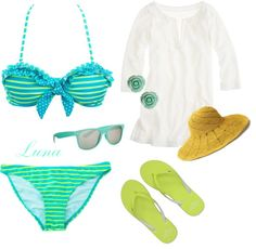 """Spring Break"" by jessica-luna ❤ liked on Polyvore"
