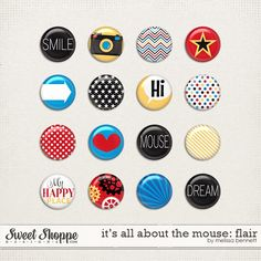 It's all about the Mouse Flair by Melissa Bennett #DisneySide
