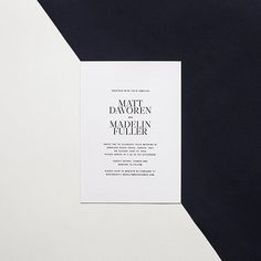 Paperlust has a large range of simple wedding invitations. Modern, minimal, clean invitations with lots of white space. Available in all print types including letterpress, foil stamp, digital and white ink. Minimalist Wedding Invitations, Classic Wedding Invitations, Engagement Invitations, Baby Shower Invitations, Birthday Invitations, Christmas Invitations, Simple Weddings, Letterpress, Event Design