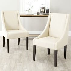 Safavieh Soho Creme Arm Chair Linen - 12287941 - Overstock.com Shopping - Great Deals on Safavieh Dining Chairs