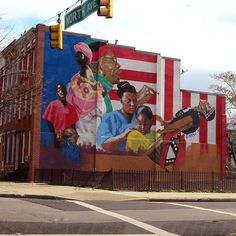Baltimore murals and sun on pinterest for Baltimore mural program