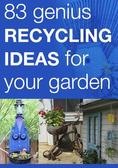 83 genius recycling ideas for your garden