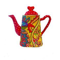 Mira Krispil, new polymer art teapot.  See more at her etsy shop: http://www.etsy.com/shop/MIRAKRIS   or on her Pinterest site:  http://pinterest.com/mirakris/my-art/