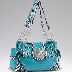 Studded Zebra Print Shoulder Handbag Purse w/ Rhinestone Star Accent Blue http://www.ebay.com/itm/Studded-Zebra-Print-Shoulder-Handbag-Purse-w-Rhinestone-Star-Accent-Blue-/261076456944?pt=US_CSA_WH_Handbags=item3cc95e95f0