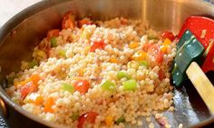 Cous Cous with Shallots