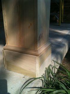 front porch columns