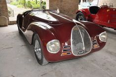 1940 Ferrari 815. First Ferrari built by Enzo Ferrari after leaving Alfa Romeo.