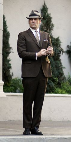 Here's Don Draper in Season 7 of Mad Men - a return to the Algonquin Hotel.
