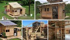 Como construir una casa con palets en un sólo día