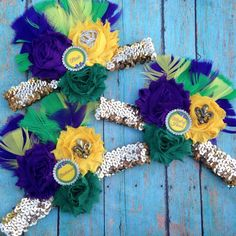 Check out this item in my Etsy shop https://www.etsy.com/listing/245308000/mardi-gras-bachlortte-party-headbands