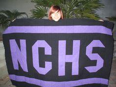 School spirit quilt for my daughter