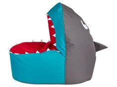 Kinder Sitzsack Hai Sitzkissen Sharky 90x60x80 Kindergartenmöbel