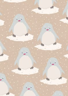 Wrapping Paper Pinguin