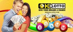 START WINNING OK-Lotto gives you an amazing opportunity to get rich without any effort. Just buy an online lottery ticket and try your luck. Choose one of the lotteries and START WINNING. With ok-lotto.com. you get your first ticket for FREE! http://www.ok-lotto.com/