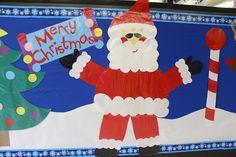Santa, North Pole Bulletin Board