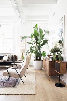 bright nyc loft designed by home polish / sfgirlbybay