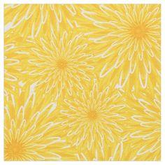 Blanket of Dandelions custom fabric by katzdzynes