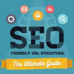 An SEO friendly URL helps to get more navigation to your website with much ease. This infographic is a guide on how to develop such URLs. Search Engine Optimization, Seo, Infographic, Information Design, Visual Schedules
