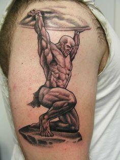 greek atlas tattoo design - Google Search